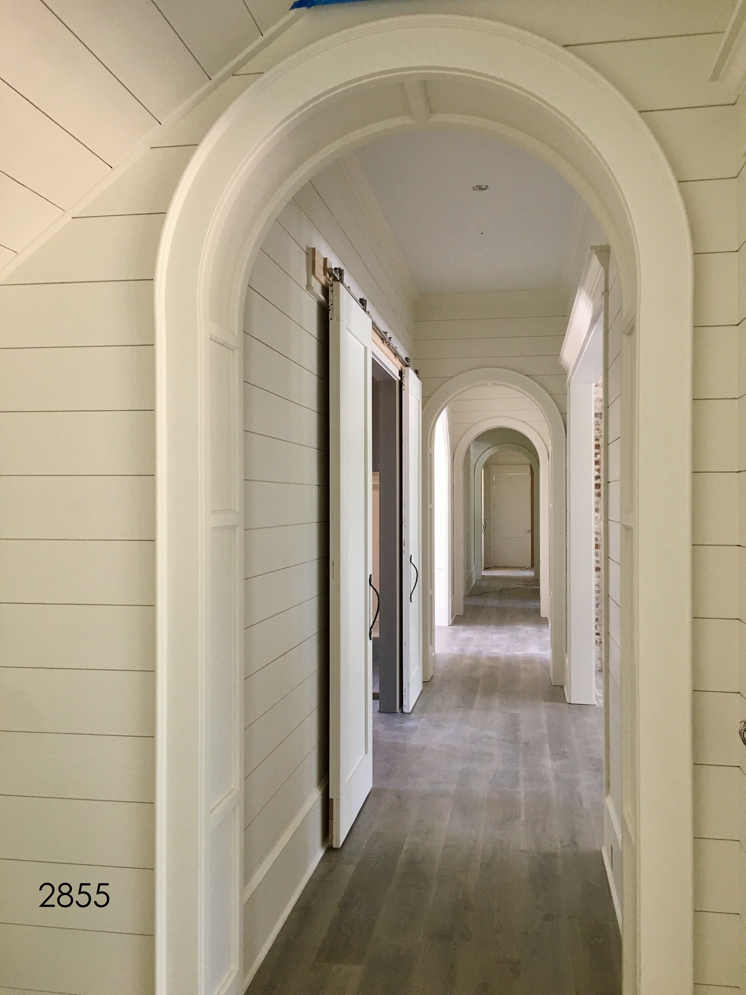 Half Round Arched Openings Are The Perfect Compliment To