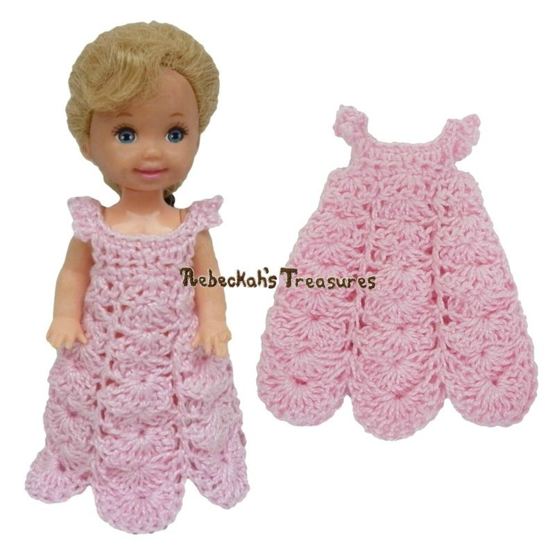 Dressy Dress 12 ~ Pretty in Pink Free Crochet Pattern for Children ...