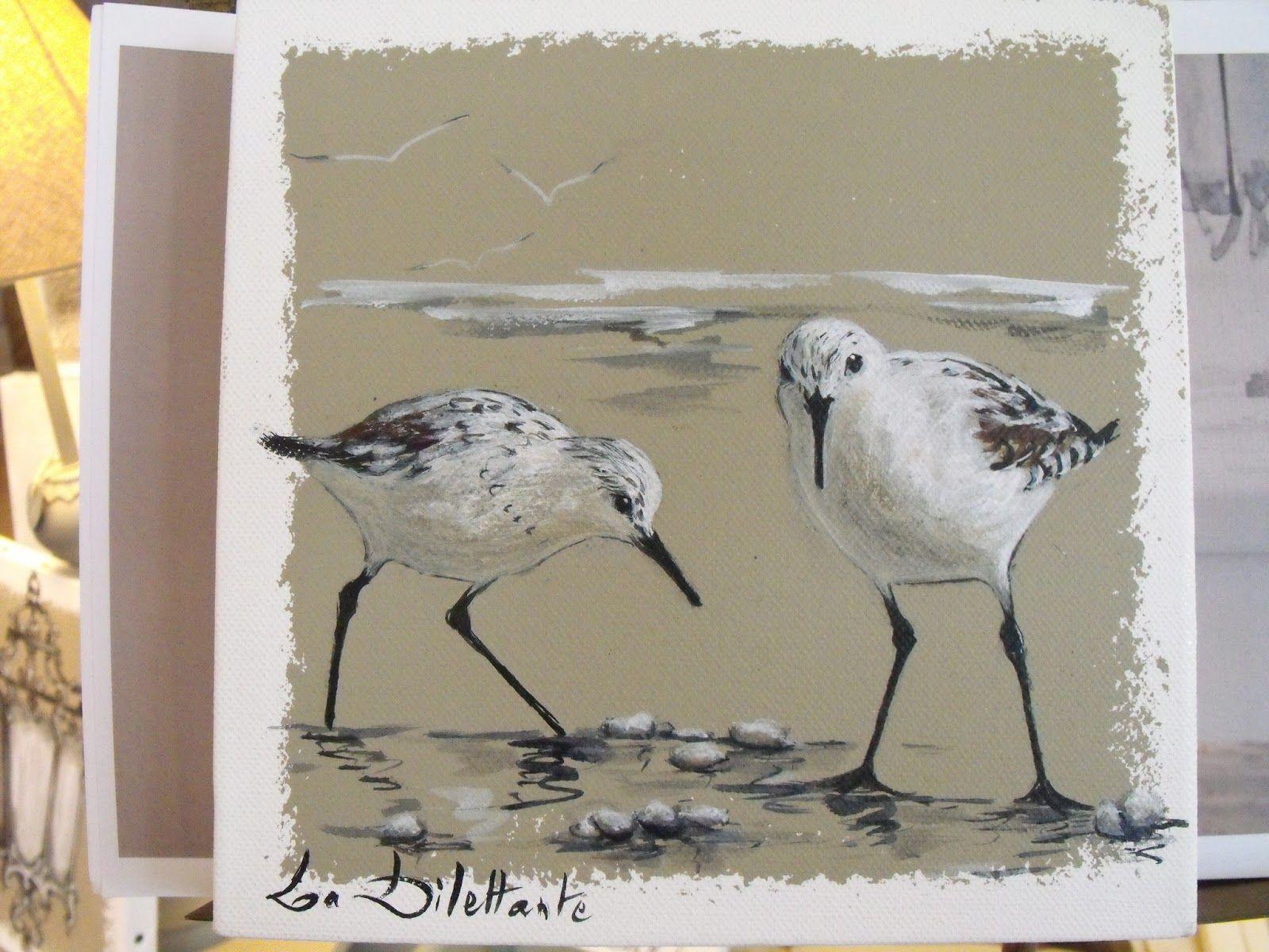 Epingle Par Jousse Sur Art Art De La Mer Peinture Oiseau
