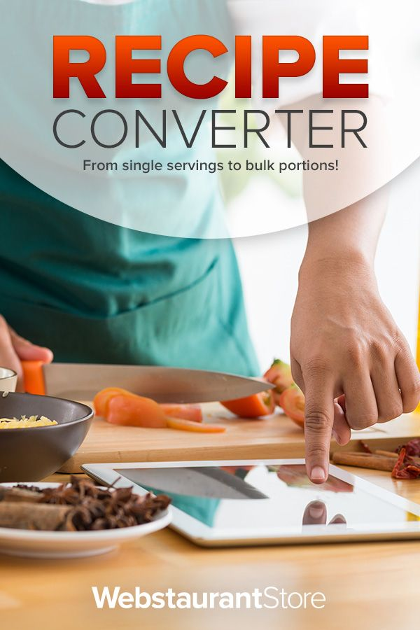 Cooking for a crowd try our recipe converter you can also make try our recipe converter you can also make bulk recipes forumfinder Images