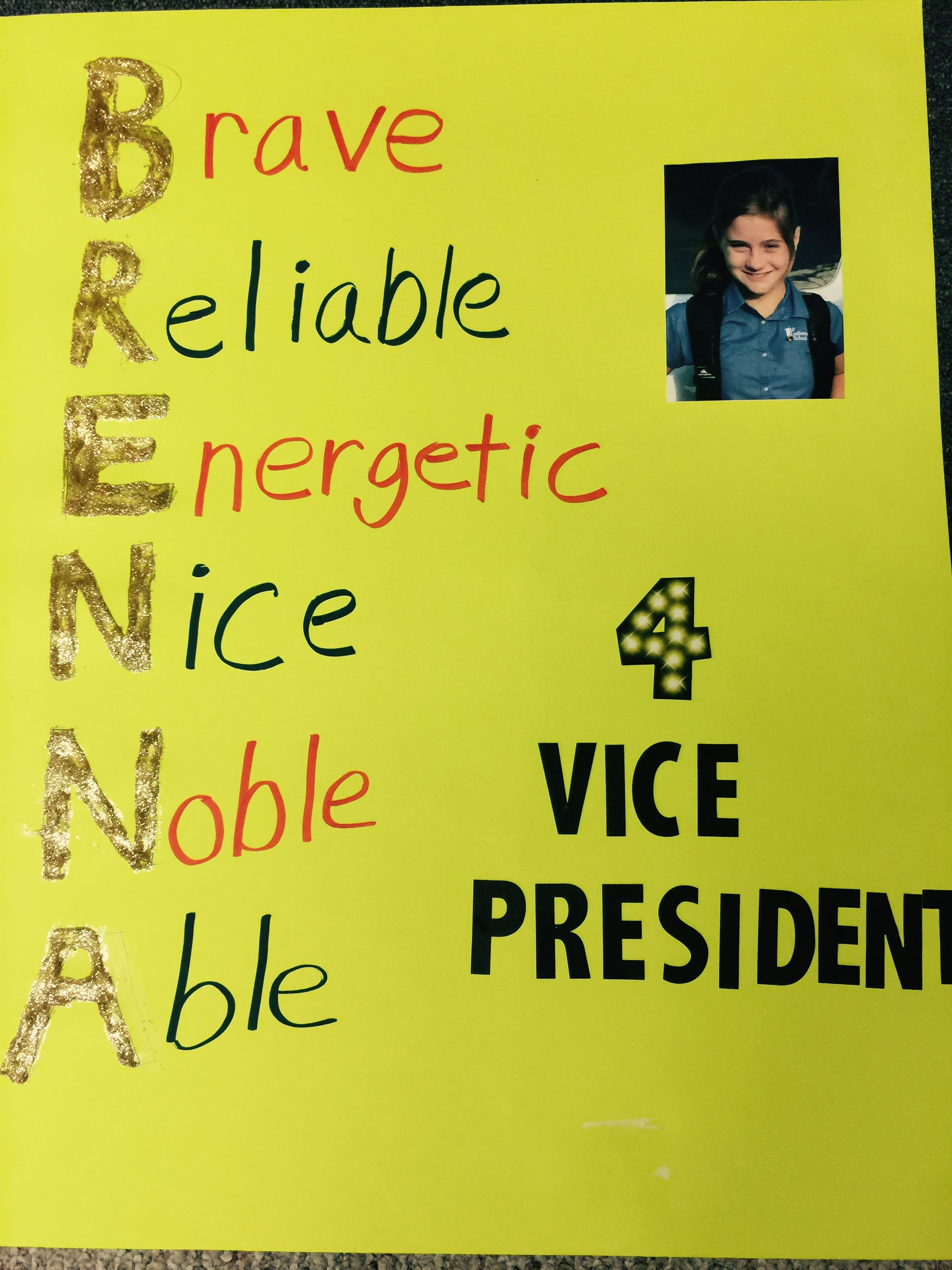 Pin on Elementary School Student Council Election Posters