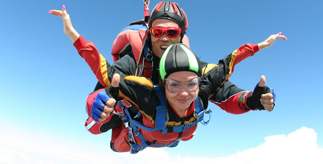 Ballon Fallschirm Tandemsprung In Dahlem Nrw Himmel