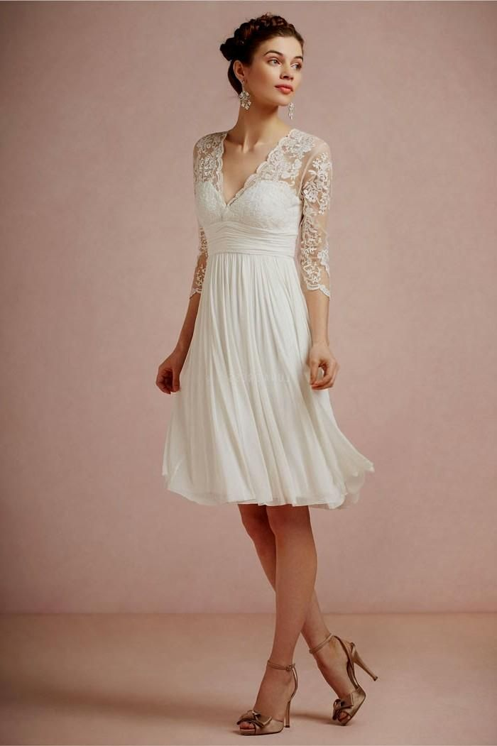 1ceb7fd2abc short wedding dresses with short sleeves Naf Dresses