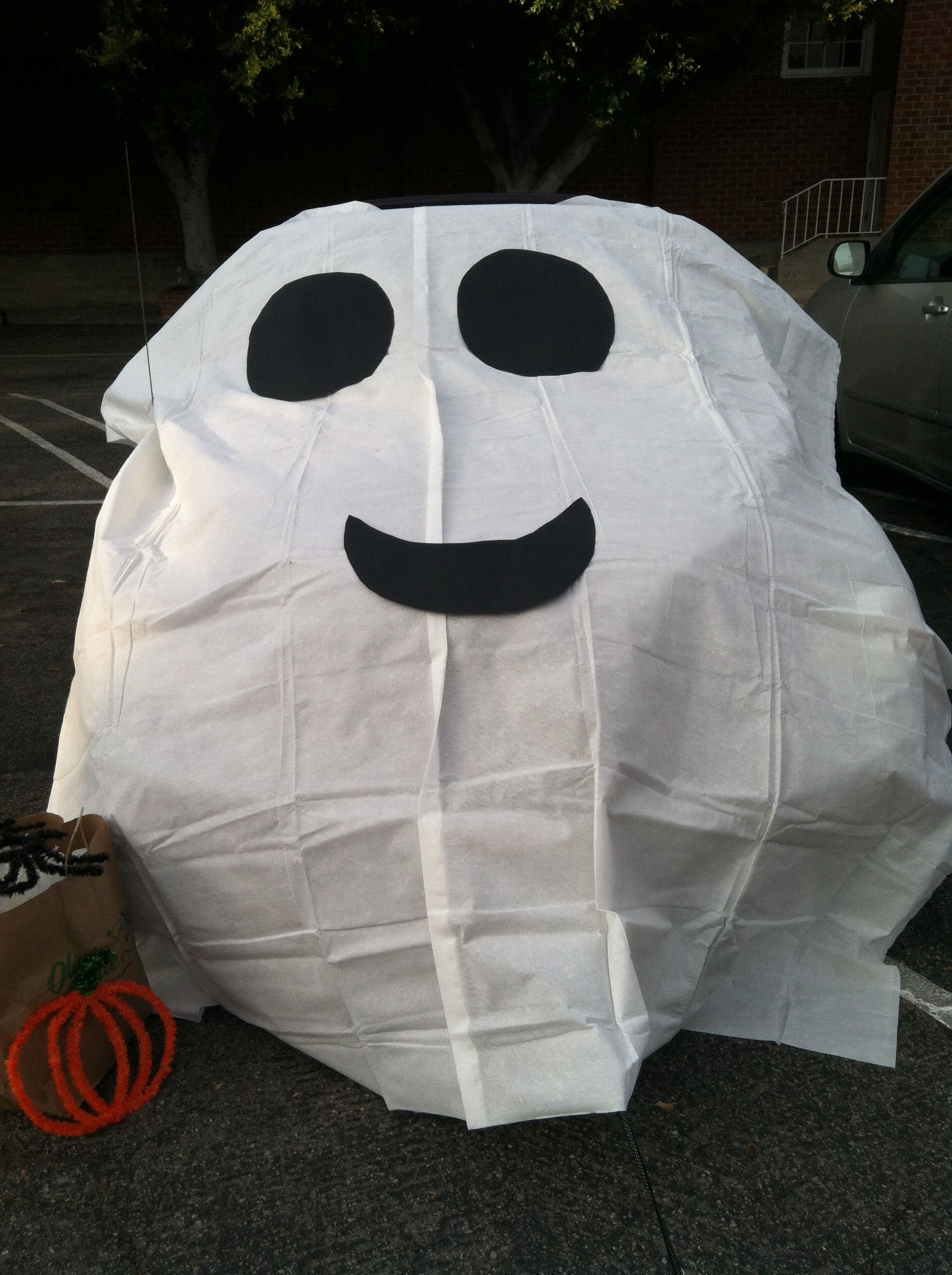 Drive Time Used Cars >> Trunk or Treat. Ghost Car. Cheap and easy. $6.00 for a ...