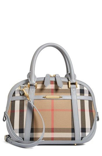 824097ea5afb Love the grey contrast details. Burberry  Orchard - Small  Satchel ...