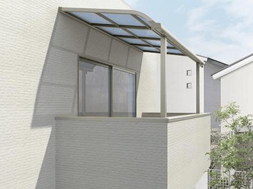 プレスタ7y型 横スリット形材 ベランダ リクシル タイル 庭 Diy フェンス