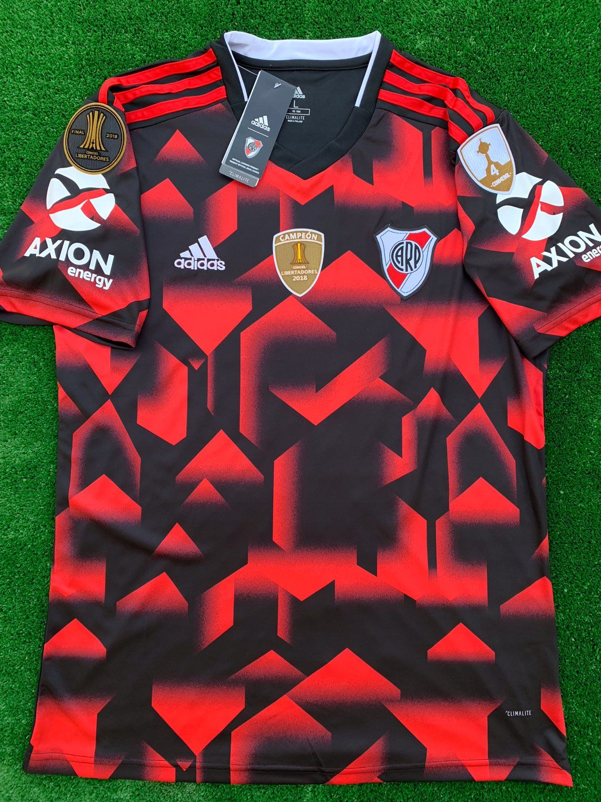 Brand new adidas river plate away jersey with colombian