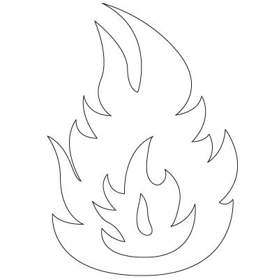 Want to Learn How to Draw a Flame? Follow our simple step