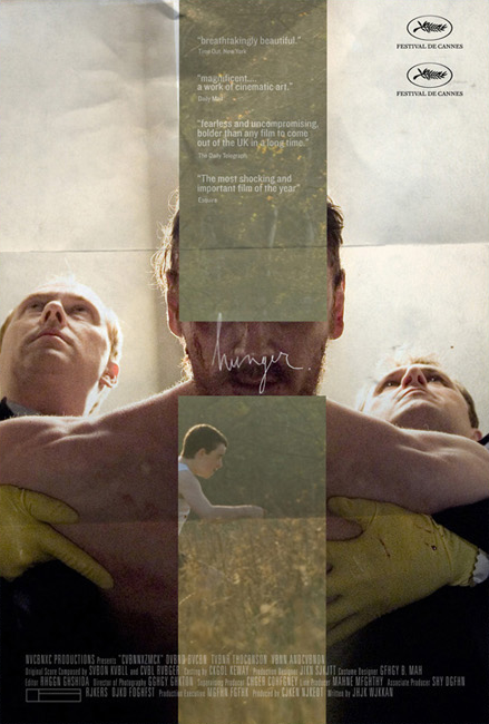 Alternative Hunger Movie Poster designed at Kellerhouse #poster #typography #design