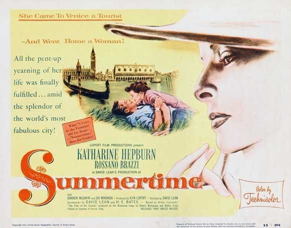 Resultado de imagem para summertime david lean poster
