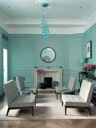 Resultado de imagem para blue living room