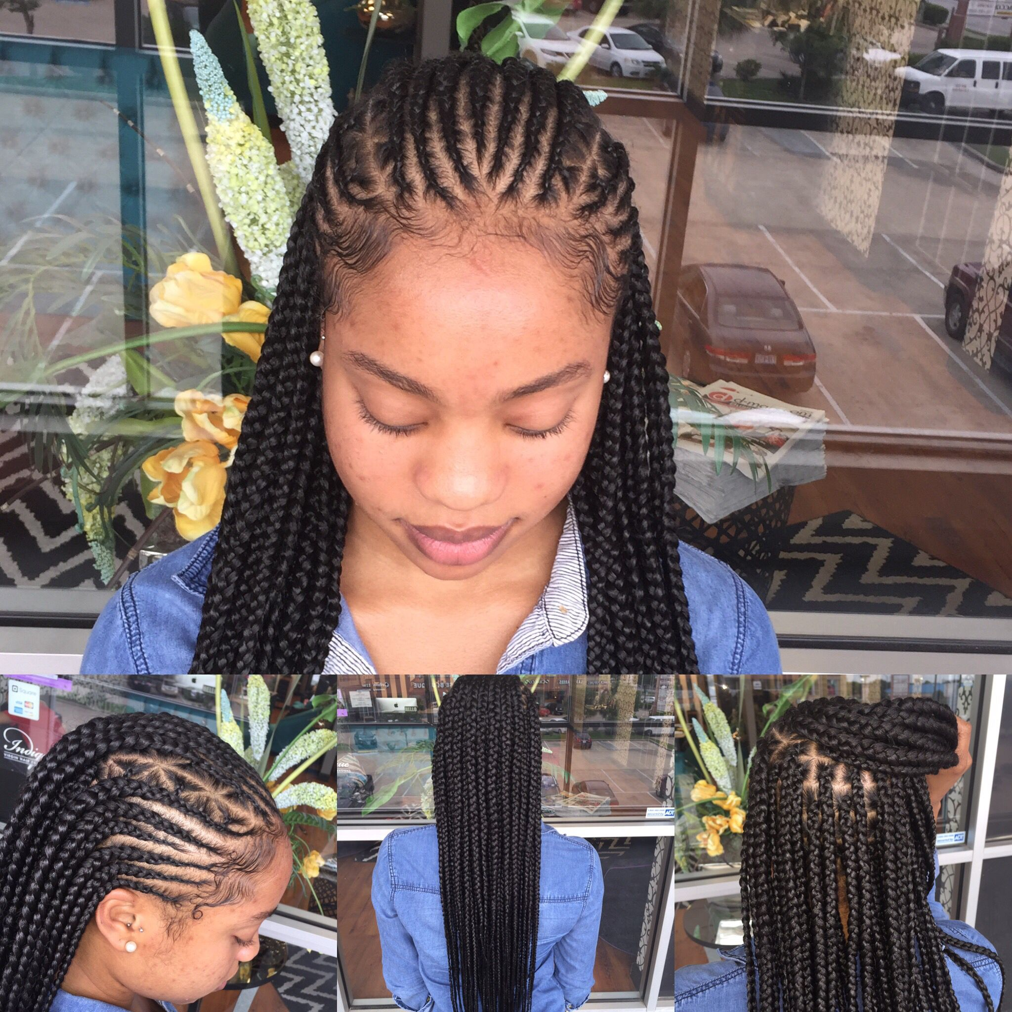 summer braids | beauty by andi b in 2019 | braids, braided
