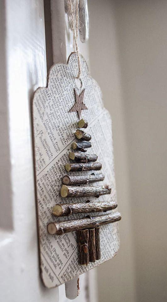 30 Wooden Christmas tree ideas weihnachten Pinterest Wooden