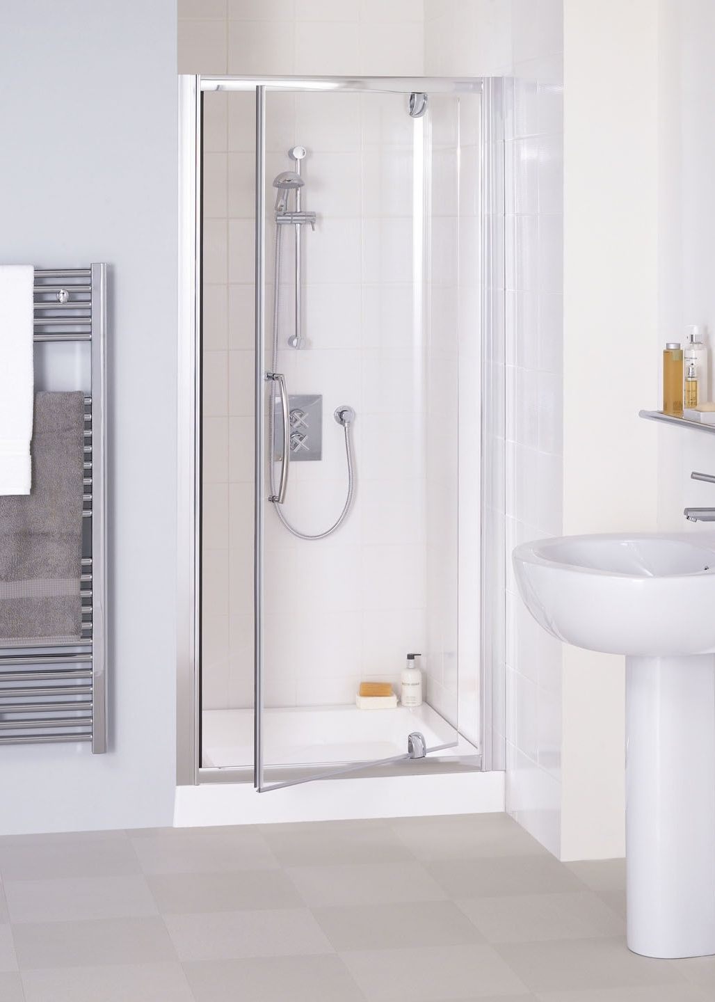 Double Pivot Frameless Shower Door Http