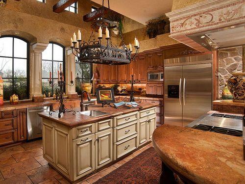 Best Amish Kitchen Cabinets Mediterranean Kitchen Design 400 x 300