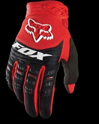 Fox Racing Dirtpaw Race Glove Dirt Bike Motocross Gear Red New Sizes S Xl Mountain Bike Gloves Bike Accesories Fox Racing Clothing
