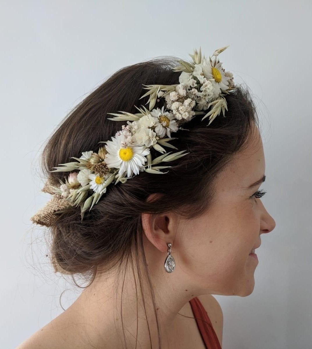 bridal flower crowns australia