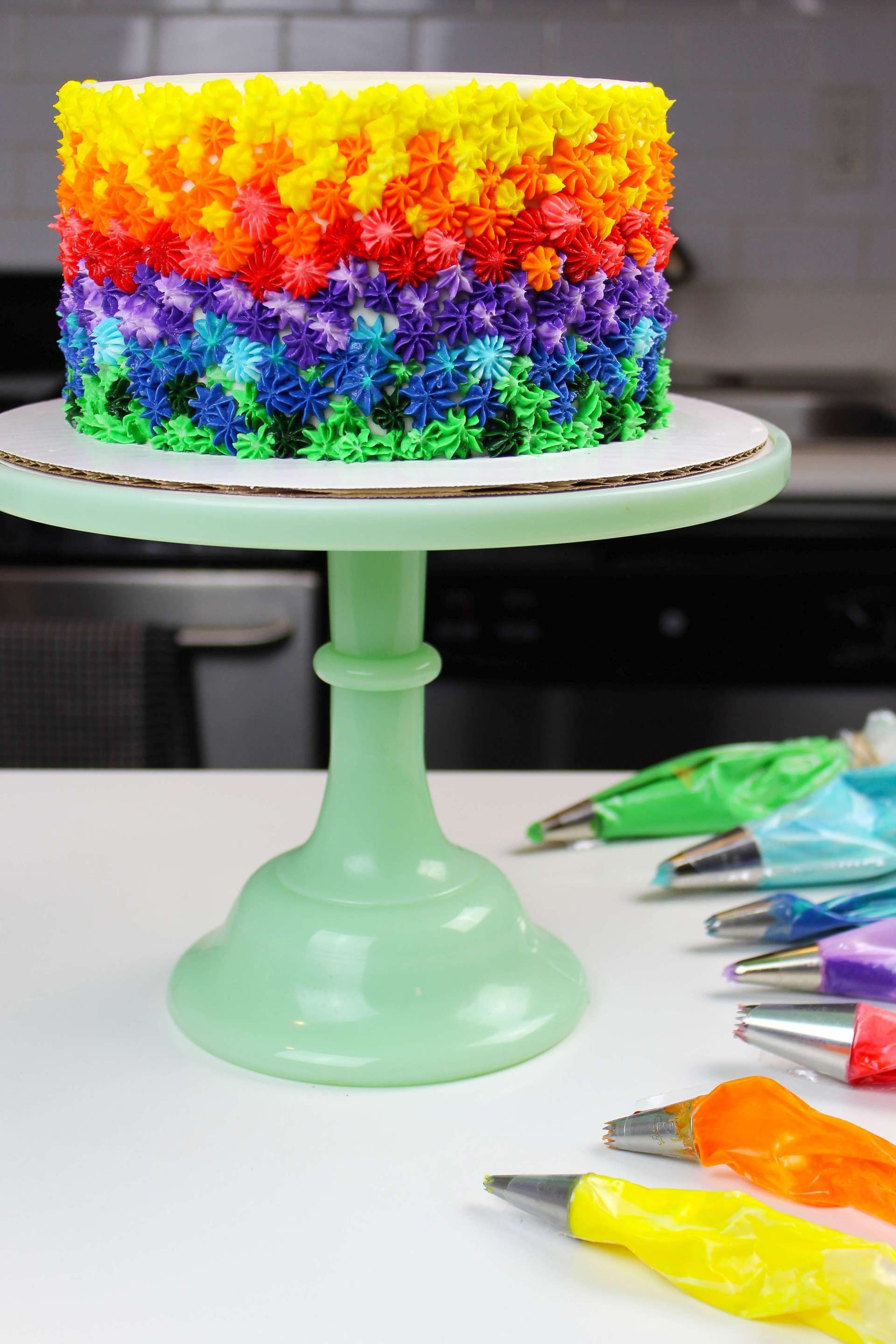 Awe Inspiring Rainbow Marbled Cake Recipe With Images Marble Cake Recipes Personalised Birthday Cards Petedlily Jamesorg