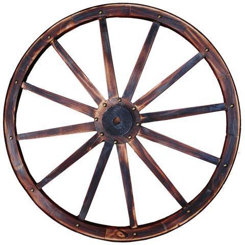 "Large Wood Wagon Wheels 30/"" Big Rustic Country Western Wall Wooden Wheel Decor"