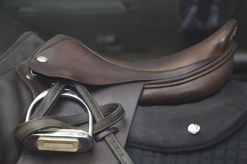 Such a smart way to keep the stirrups from Slipping while ...