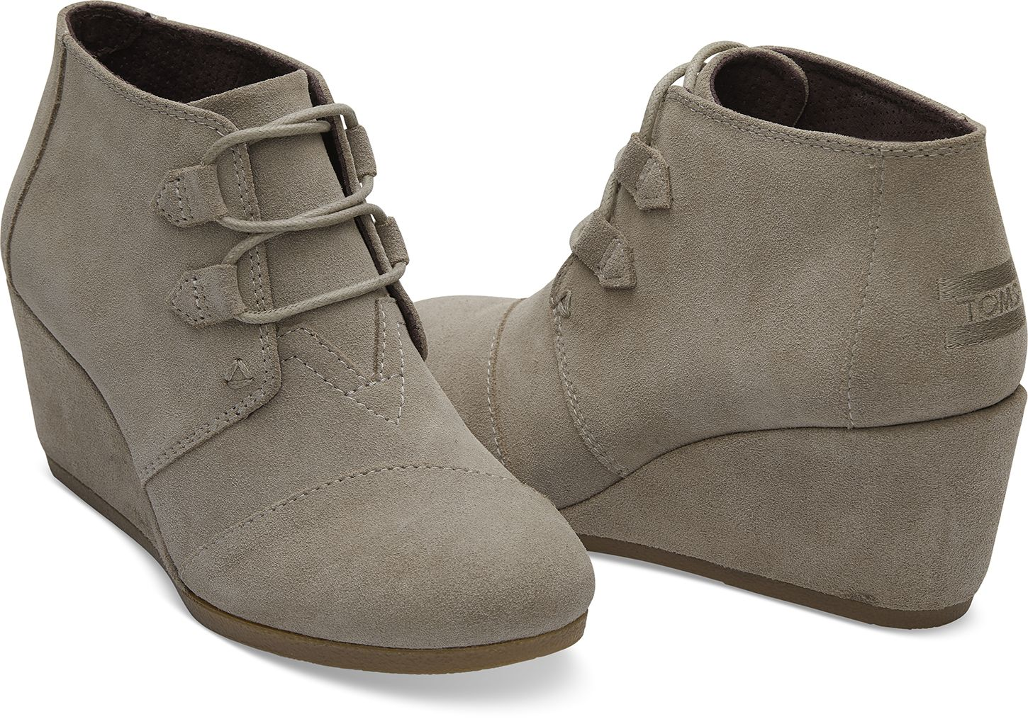 d4d85fb83a1 Desert Taupe Suede Women's Kala Booties | Wishlist! | Leather ...