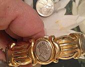 coin insert bangle bracelet