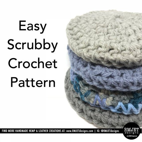 No Need To Spend A Fortune On These: How Cute Are These Scrubbies! Now, You Can Crochet Your