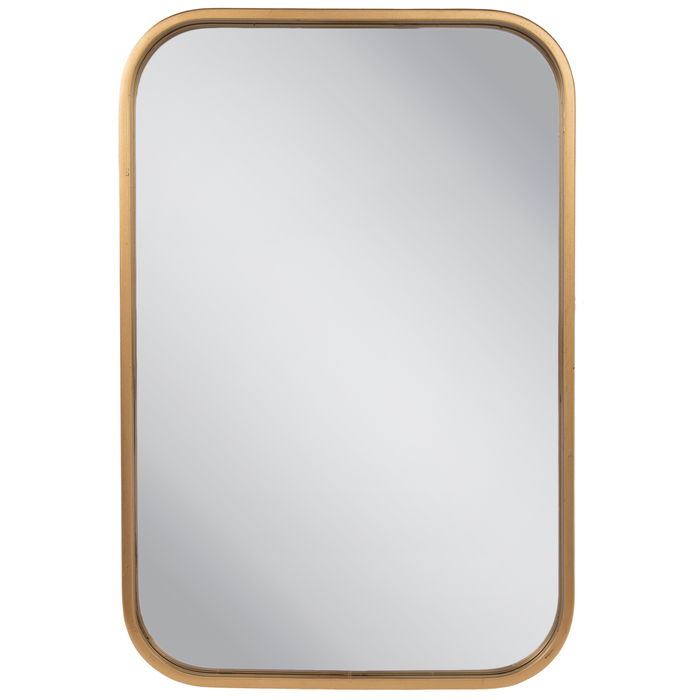 Gold Rounded Rectangle Metal Wall Mirror Hobby Lobby 1810696 Mirror Wall Round Mirror Bathroom Rounded Rectangle