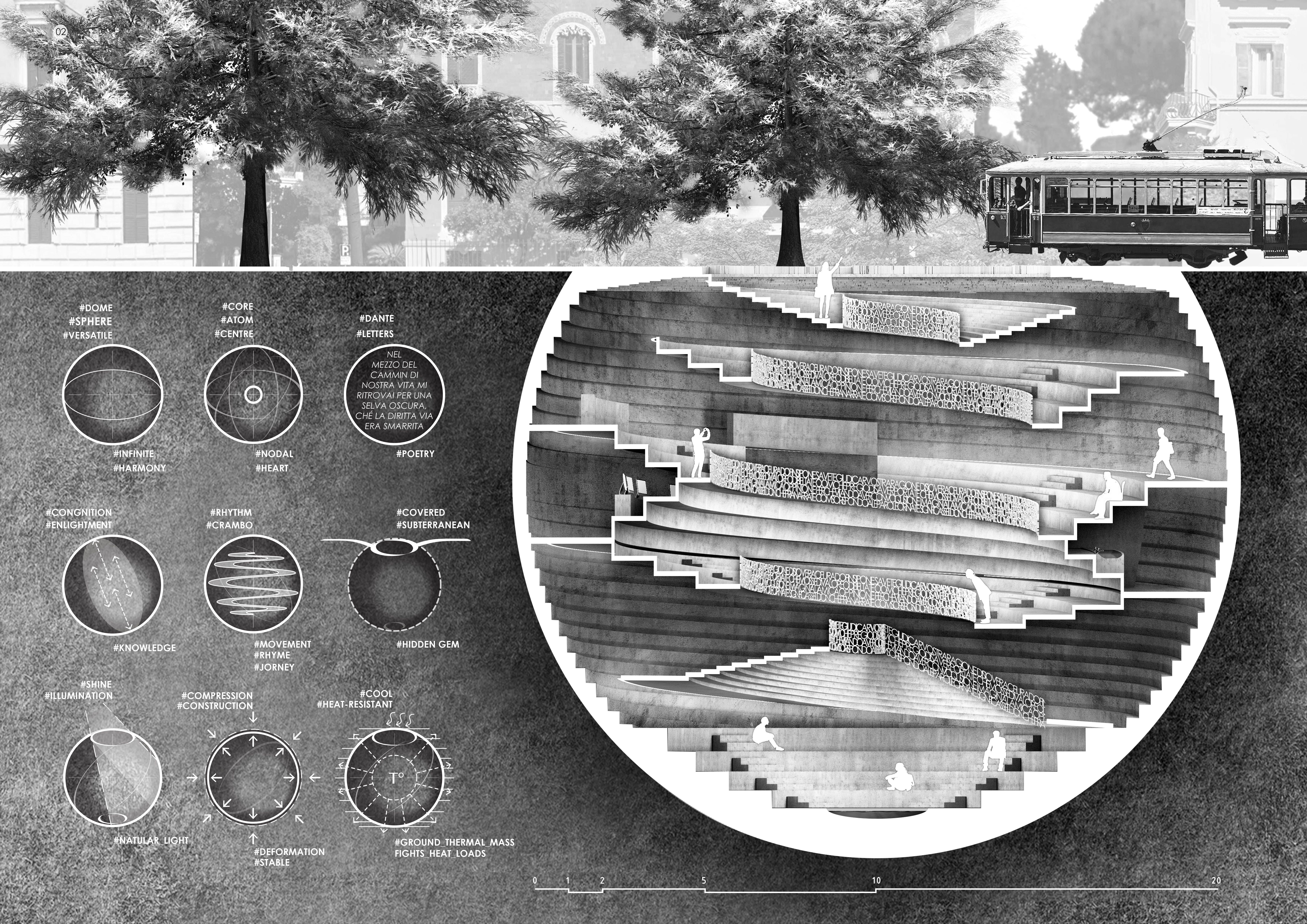 Rome Concrete Poetry Hall Competition winners