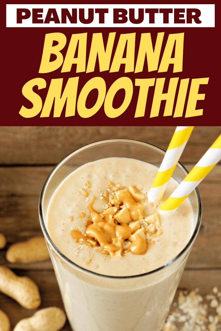 Peanut Butter Banana Smoothie Recipe Peanut Butter Banana Smoothie Peanut Butter Banana Peanutbutter Smoothie Recipes