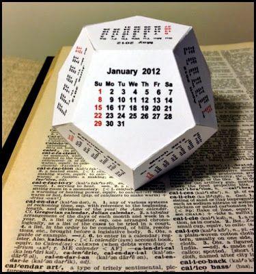This is fun!: Calendar fold