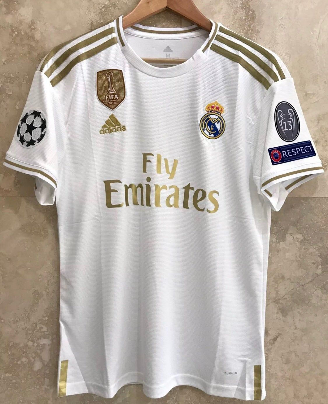 New Real Madrid Home Jersey 2019 20 On Mercari Real Madrid Jersey Madrid
