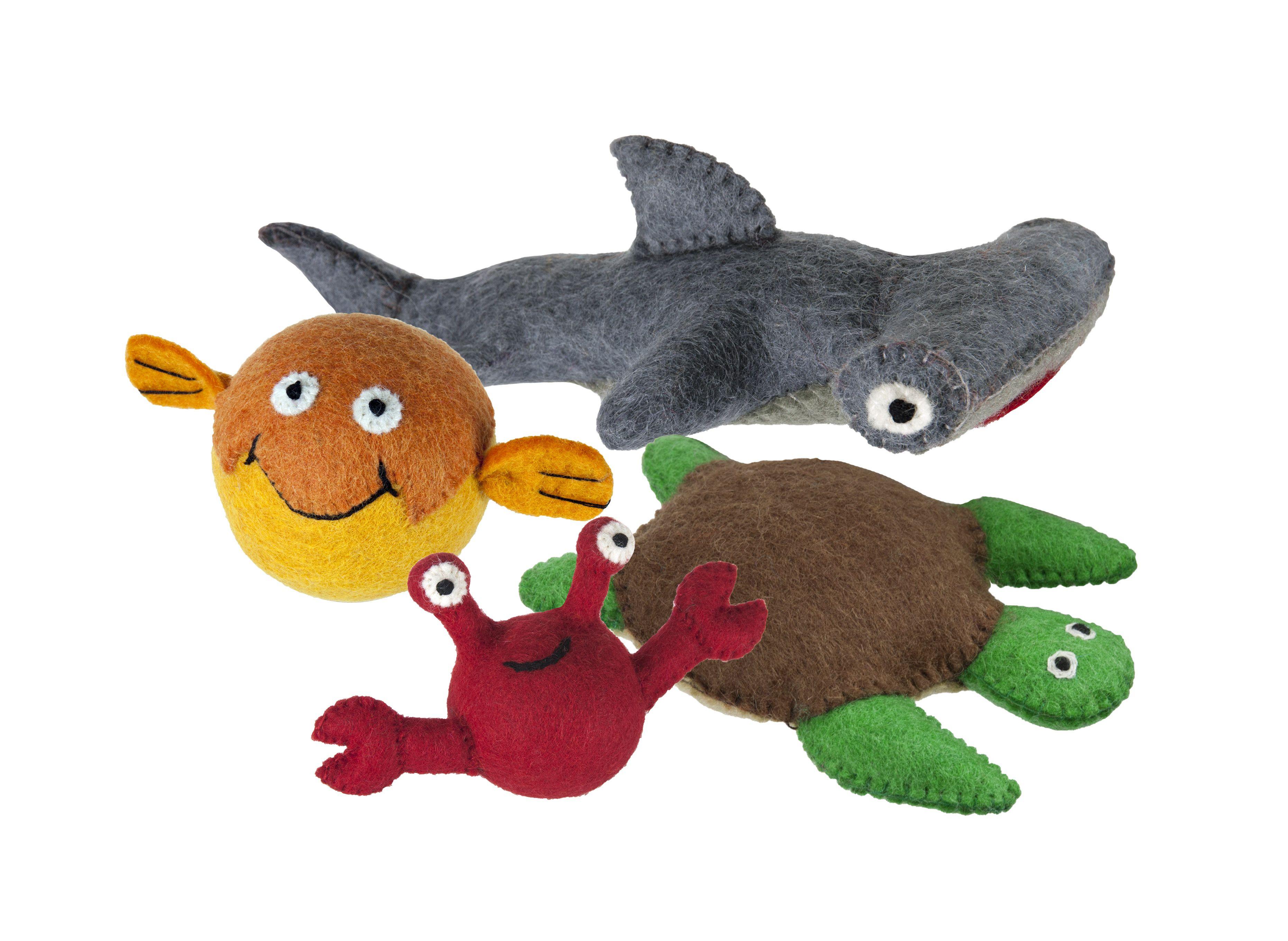Under The Sea Dog Toys Eco Friendly Sustainable Pet Toys