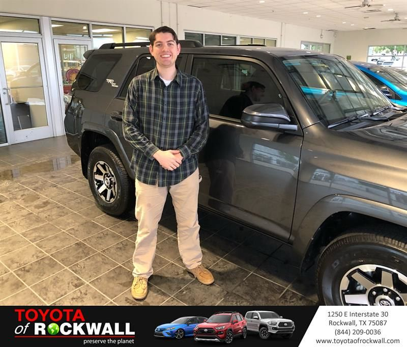 Happyanniversary To Tom And Your New Car From Everyone At Toyota Of Rockwall In 2021 New Cars Toyota Dealership Toyota