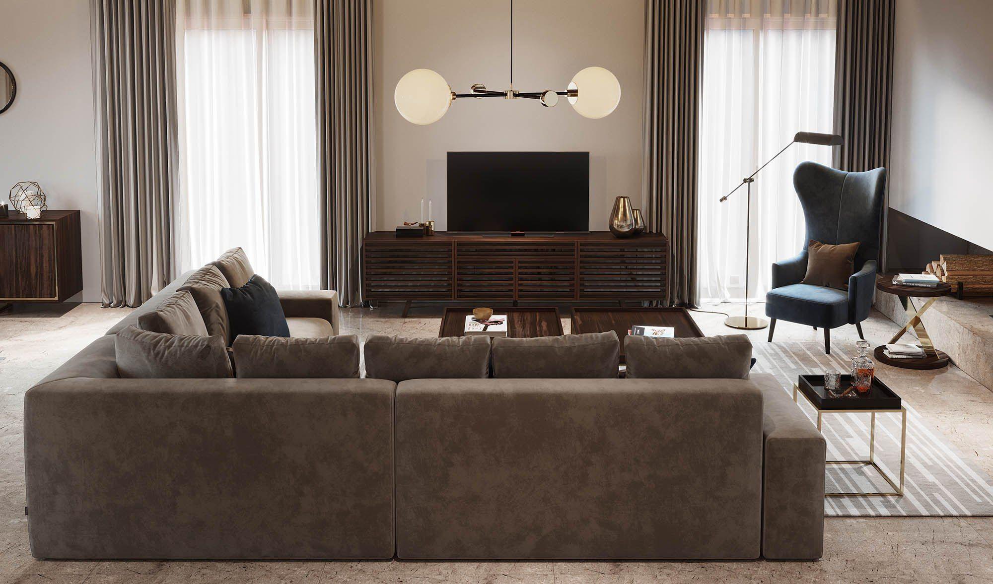 Laskasas Decorate Life Living Room Ideas Taupe Sofa Wood