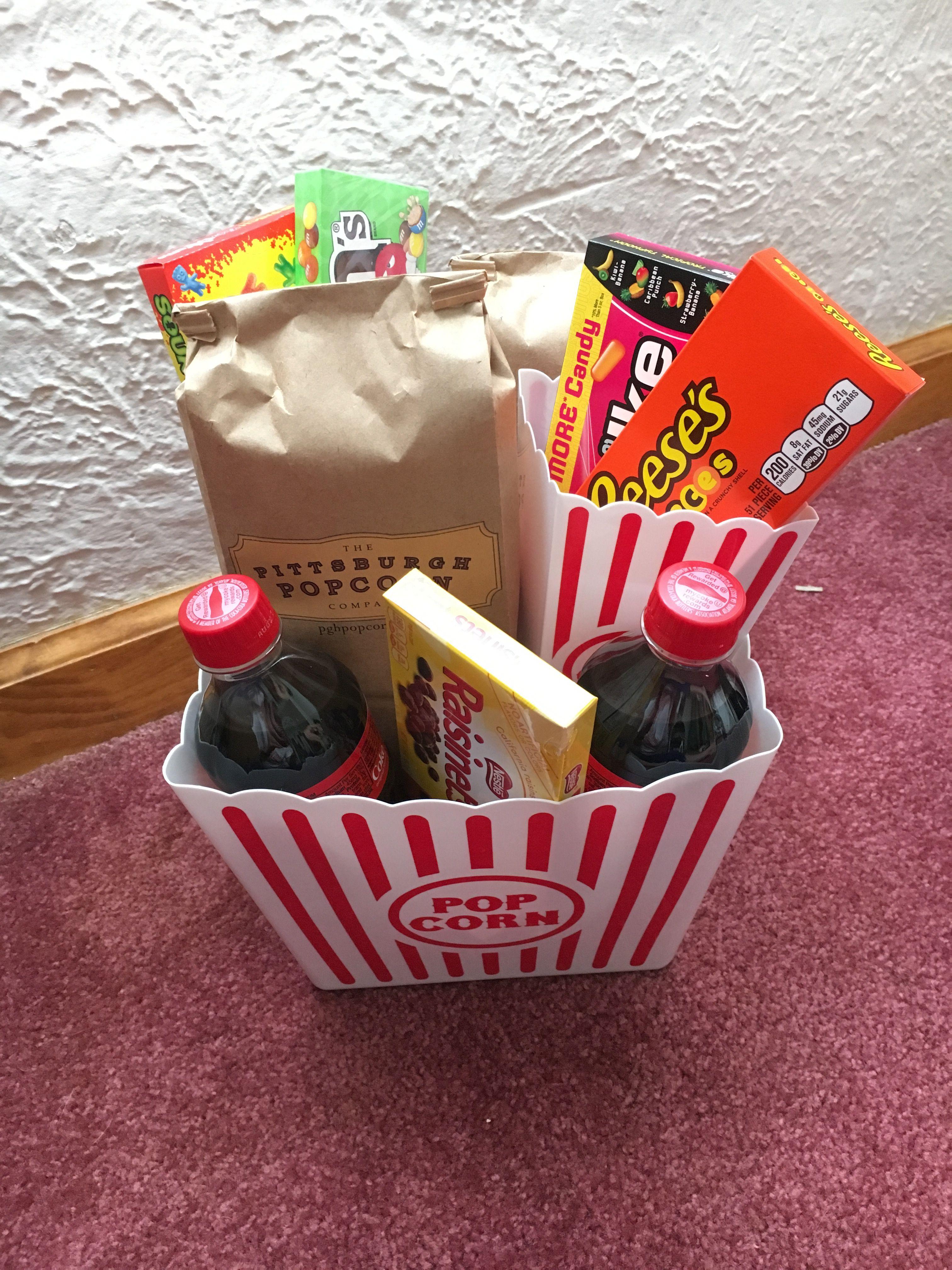 Netflix And Chill Basket Idea Netflix Gift Basket Chill Gifts Raffle Baskets