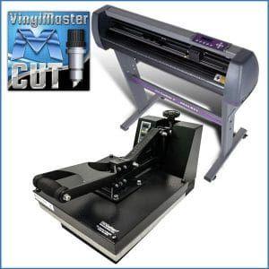 Best Vinyl Cutter 10Uscutter Combo 28″ Vinyl Cutter  15″x15″ Digital Heat Press