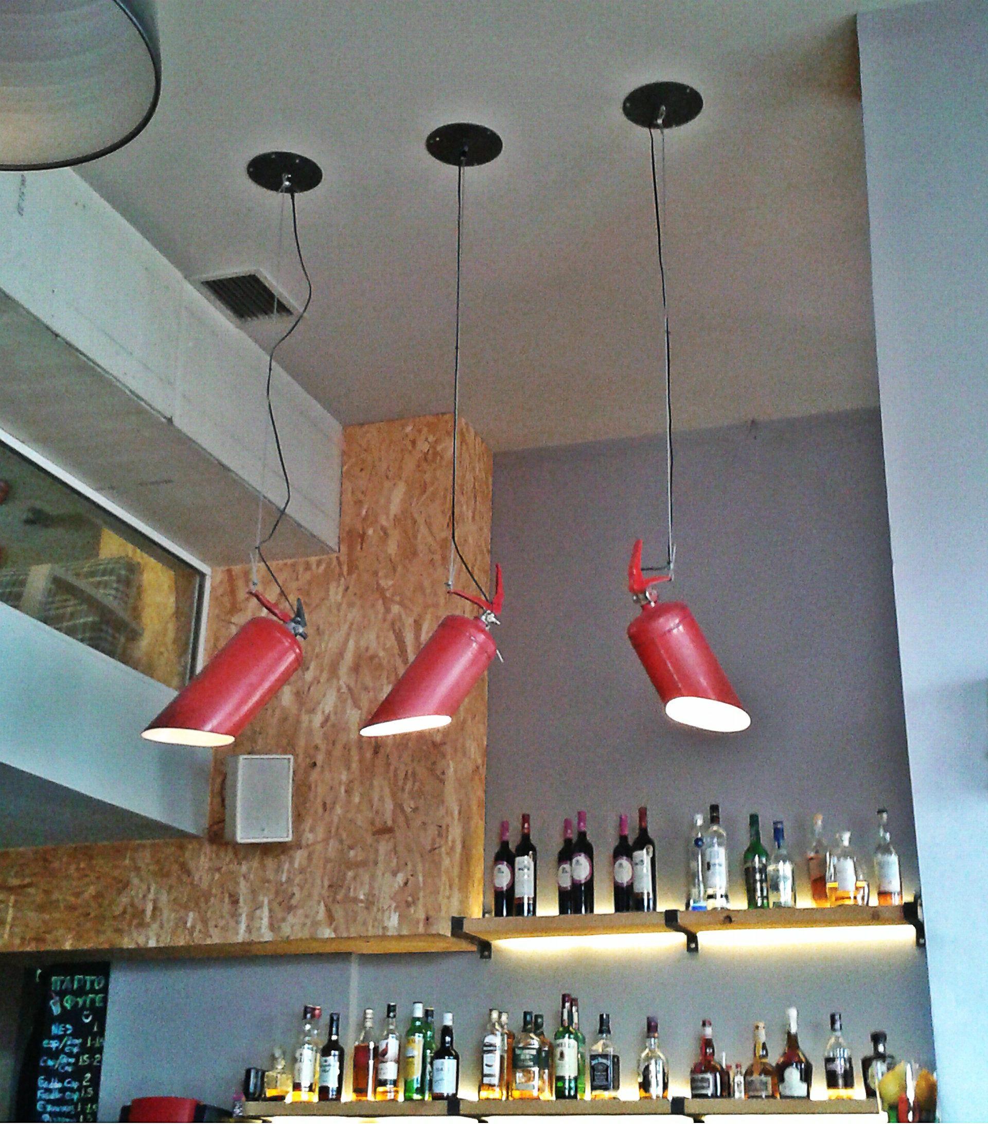 Fire Extinguisher Light Industrial Decoration Http Www Knighttechnologies In Feuerloscher Flaschenlampe Lampe