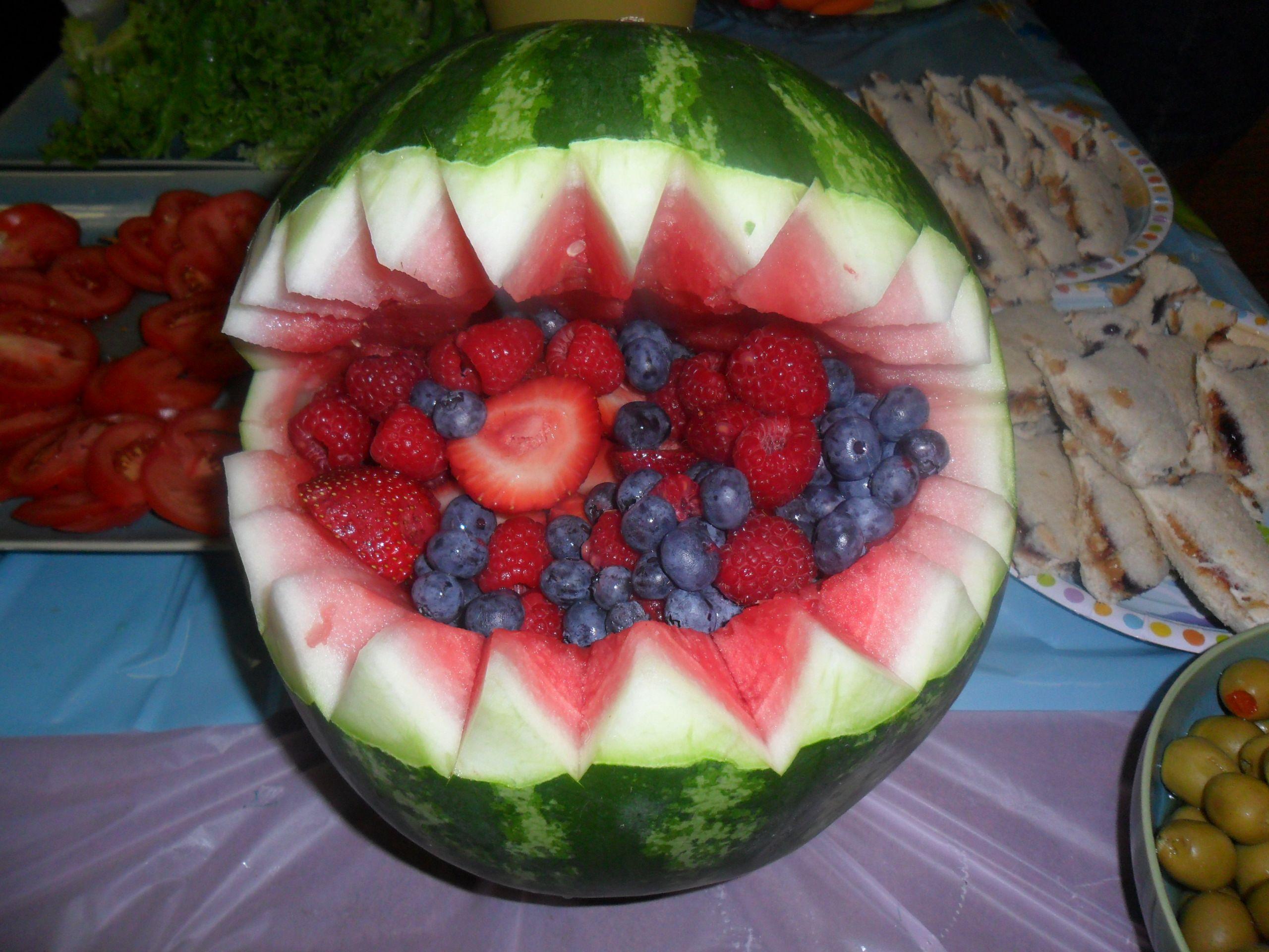 Item 5 Set 7 Vine Hand Painted Veggie Fruit Ceramic Picnic Divided Serving Plates