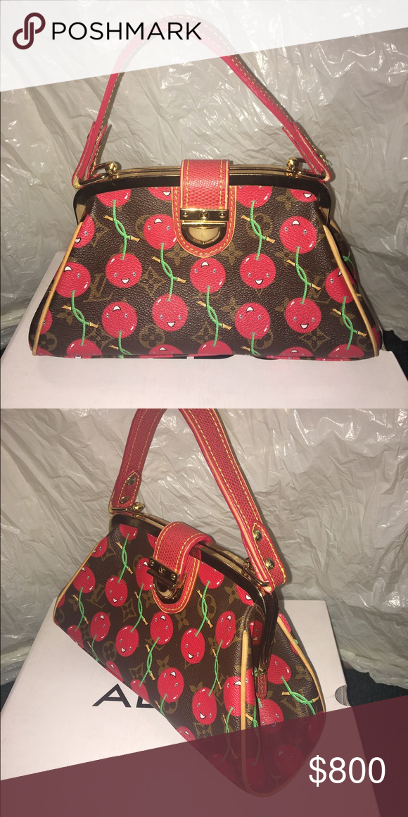 7efff4581295 Spotted while shopping on Poshmark  Limited Edition Louis Vuitton Cerises  Cherry Bag!  poshmark  fashion  shopping  style  Louis Vuitton  Handbags