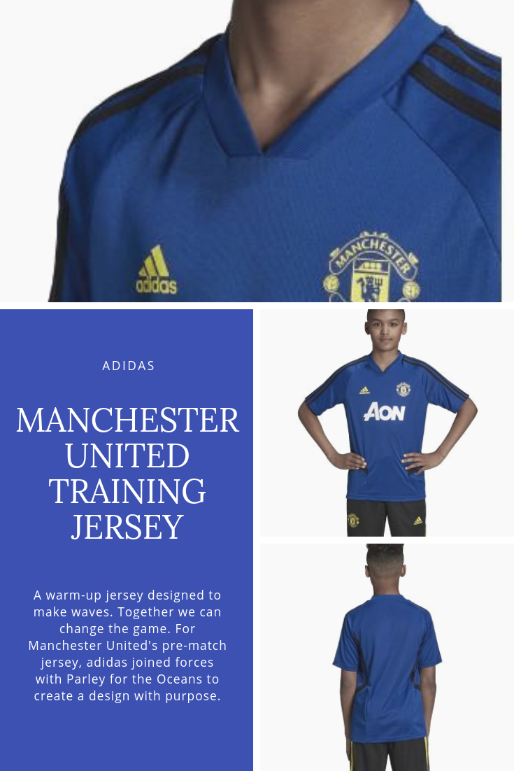 size 40 4c46a 6decc adidas Kid's Manchester United Training Jersey 2019-20 ...