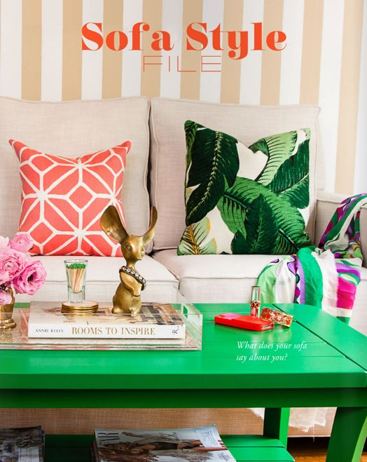 Gorgeous green coffee table | The Manifesto Magalog IV