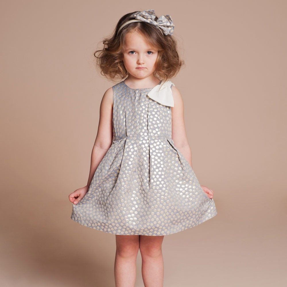 8b19b5a1f Hucklebones - Metallic Spot Boat Neck Dress