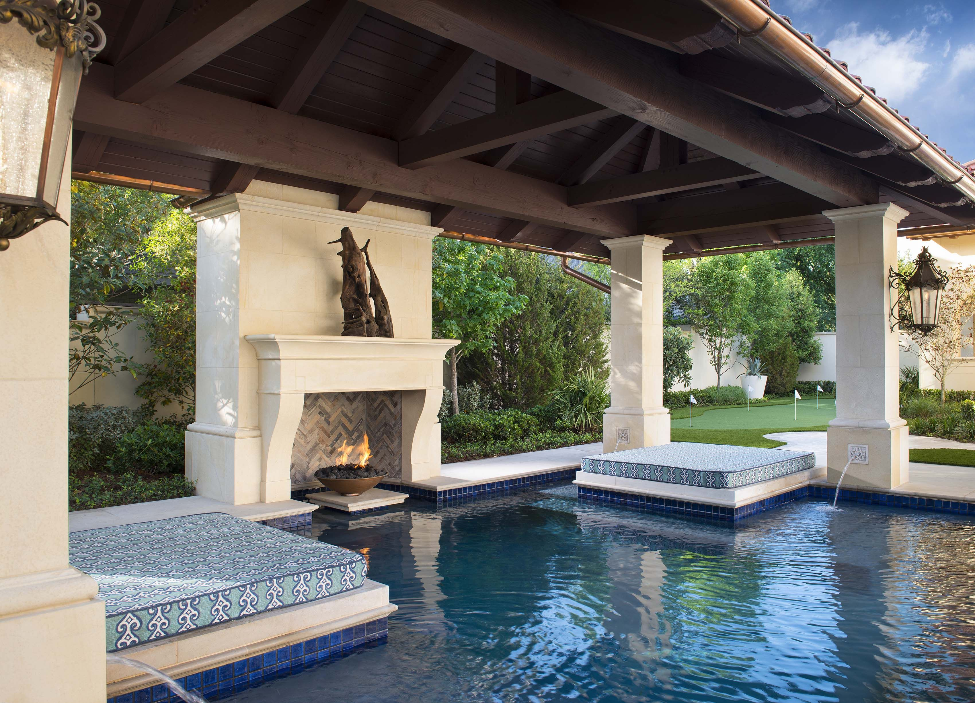 Pool Day Bed Loggia With