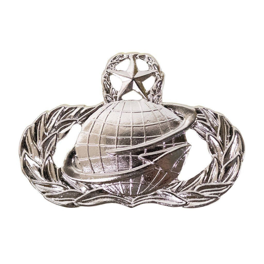 Air Force Badge Manpower Master midsize Air force