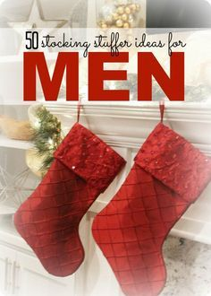 christmas stocking ides for men top 50 items to pick and choose the perfect stocking - Christmas Stockings For Men