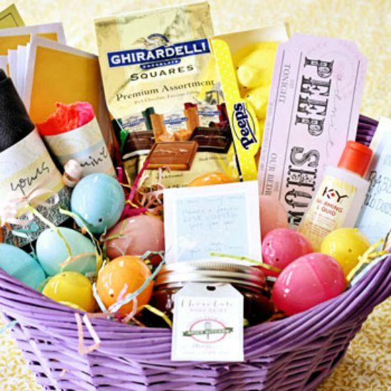 Intimate easter basket easter baskets and easter intimate easter basket negle Images