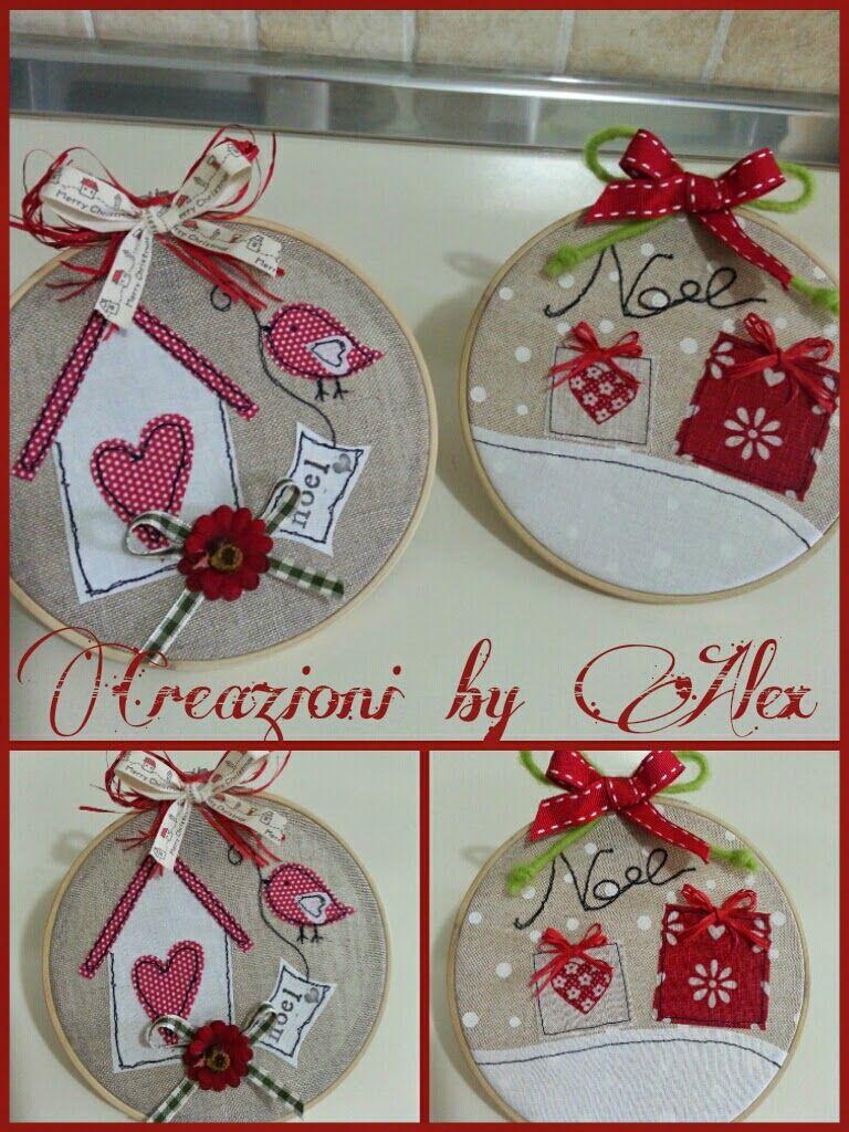 Creazioni in fimo stoffa e feltro decorazioni natalizie for Creazioni casa fai da te
