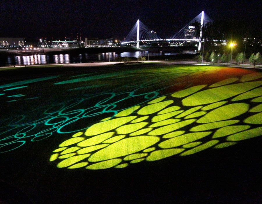 Riverfront lighting art google search espacios abierto for Decoracion y paisaje s a