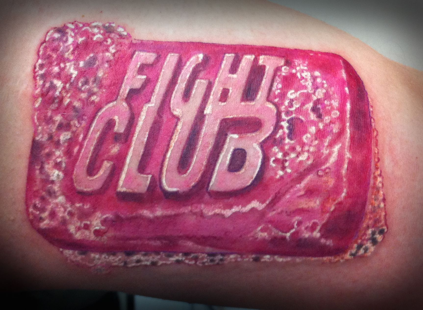 Da da danielle colby cushman tattoos - Fight Club Soap Tattoo Color